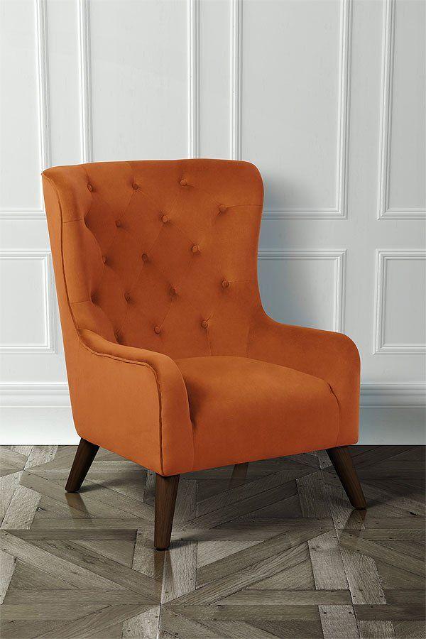 Wonderful Dorchester Lounge Armchair Burnt Orange U2013 My Furniture