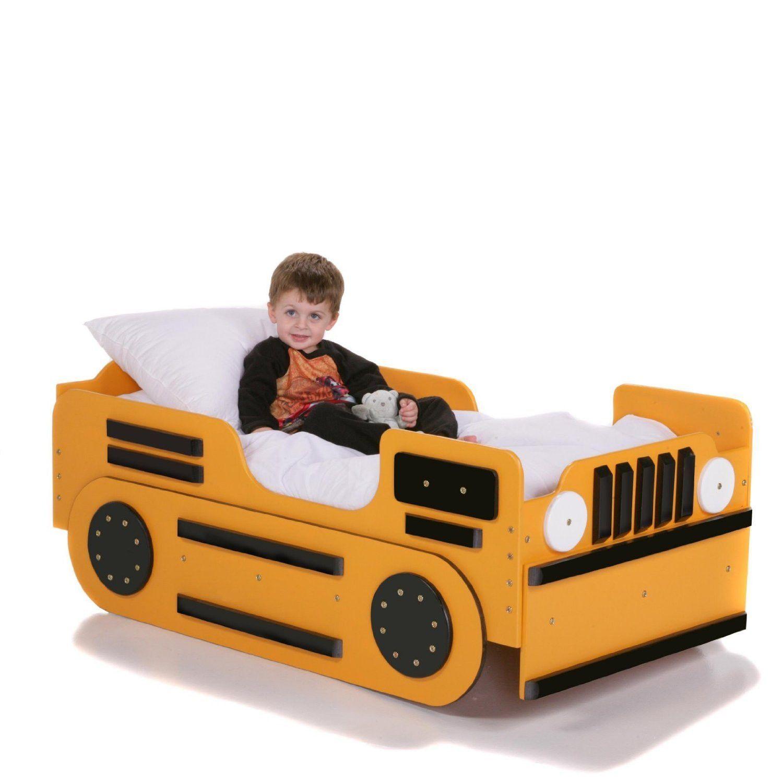 Toddler Truck Bed - Bulldozer Design