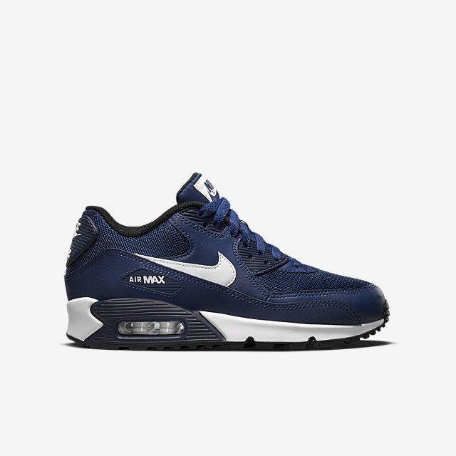 bf737b3fae Nike Air Max 90 Mesh (3.5y-7y) Kids  Shoe. Nike.com