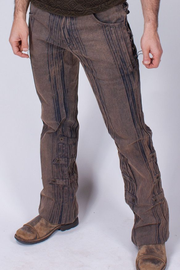 Mens Steampunk Pants Gaucho Pants - HD Stretch | The Phoenix Rose ...