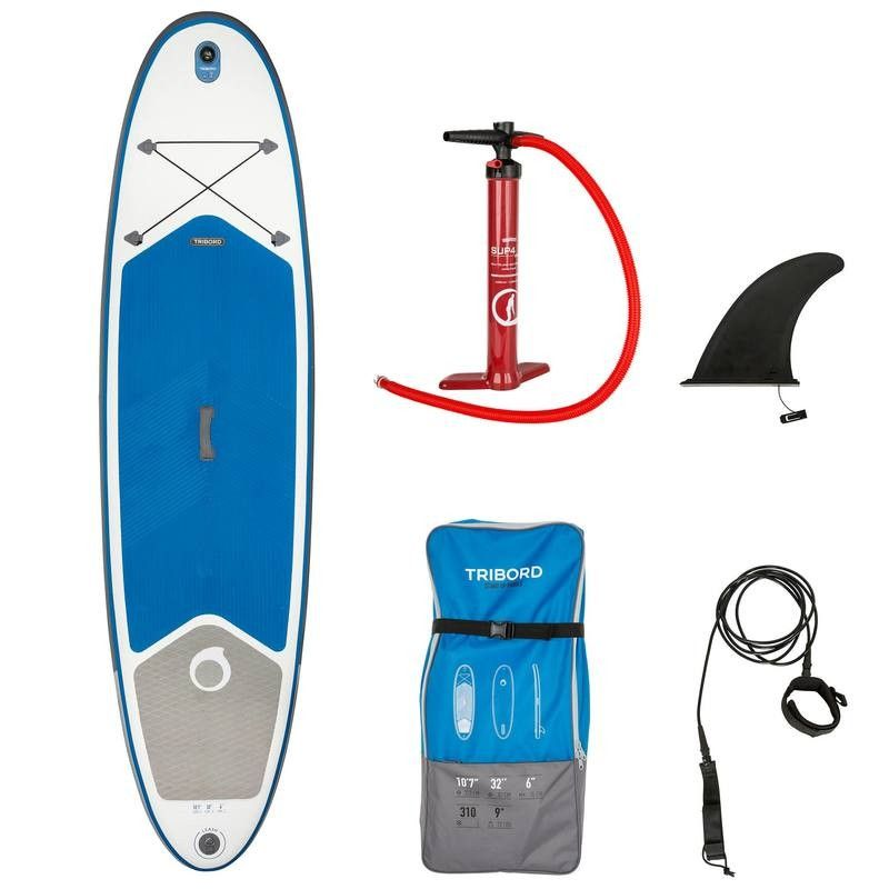 399 99 Stand Up Paddle Boards Inflatable 10 7 Sup Blue Tribord Standup Paddle Paddle Paddle Boarding