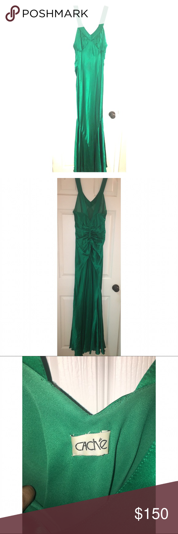 Cache Evening Gown   My Posh Picks   Pinterest   Gowns, Emeralds and ...