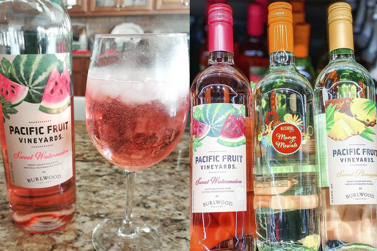 Aldi Is Selling A Pretty Pink Watermelon Wine That We Need For Summer In 2020 Watermelon Wine Aldi No Bake Summer Desserts
