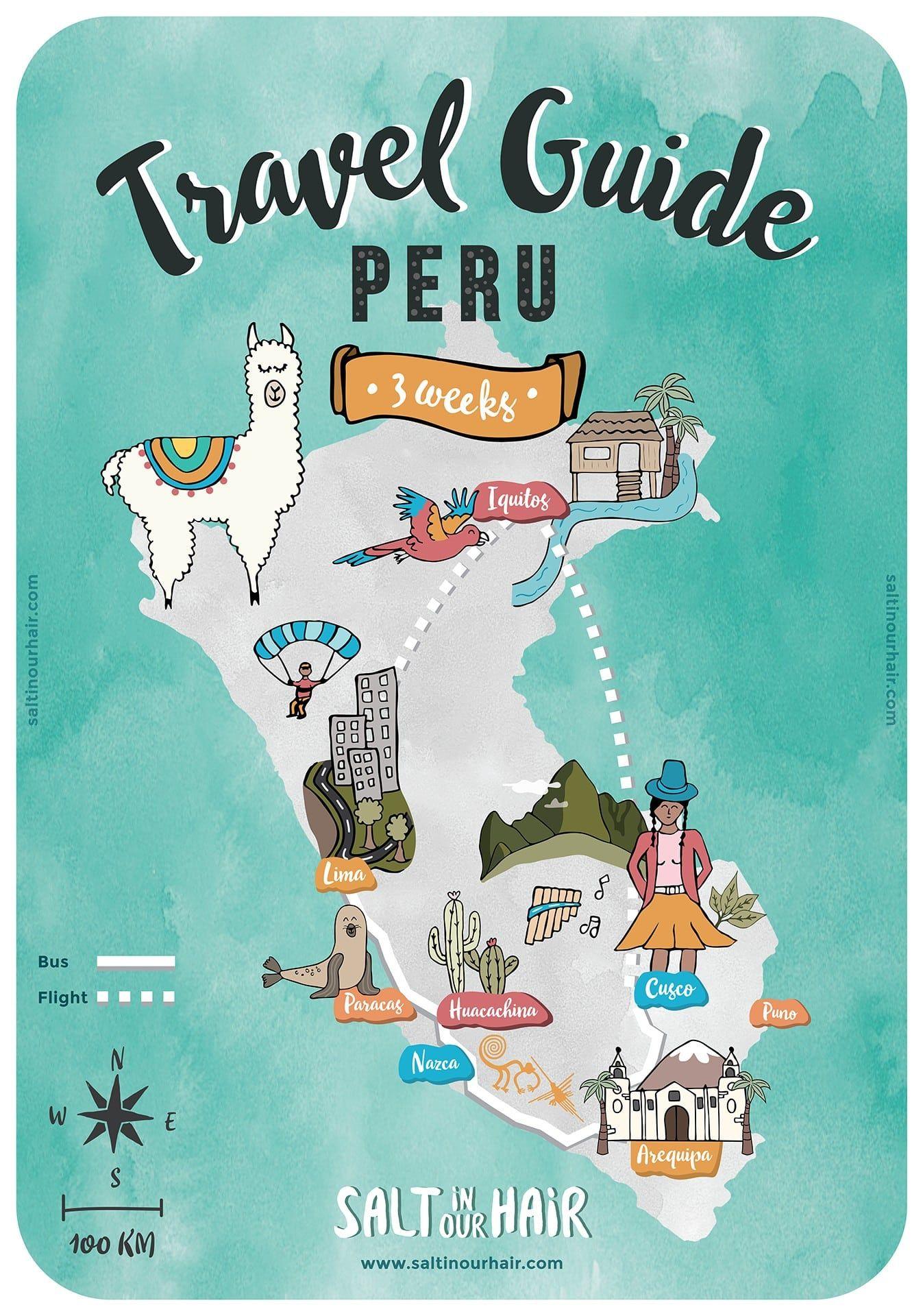 Peru Travel Guide: The Ultimate 3-week Peru Travel Itinerary