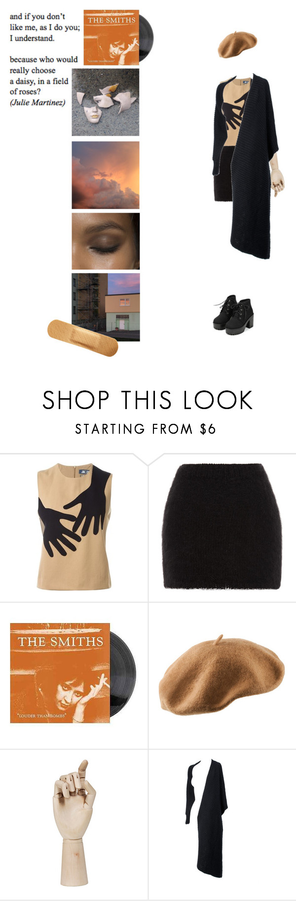 """I understand."" by onemorerainyday ❤ liked on Polyvore featuring Jacquemus, Rodarte, H&M, HAY and Alexander Wang"