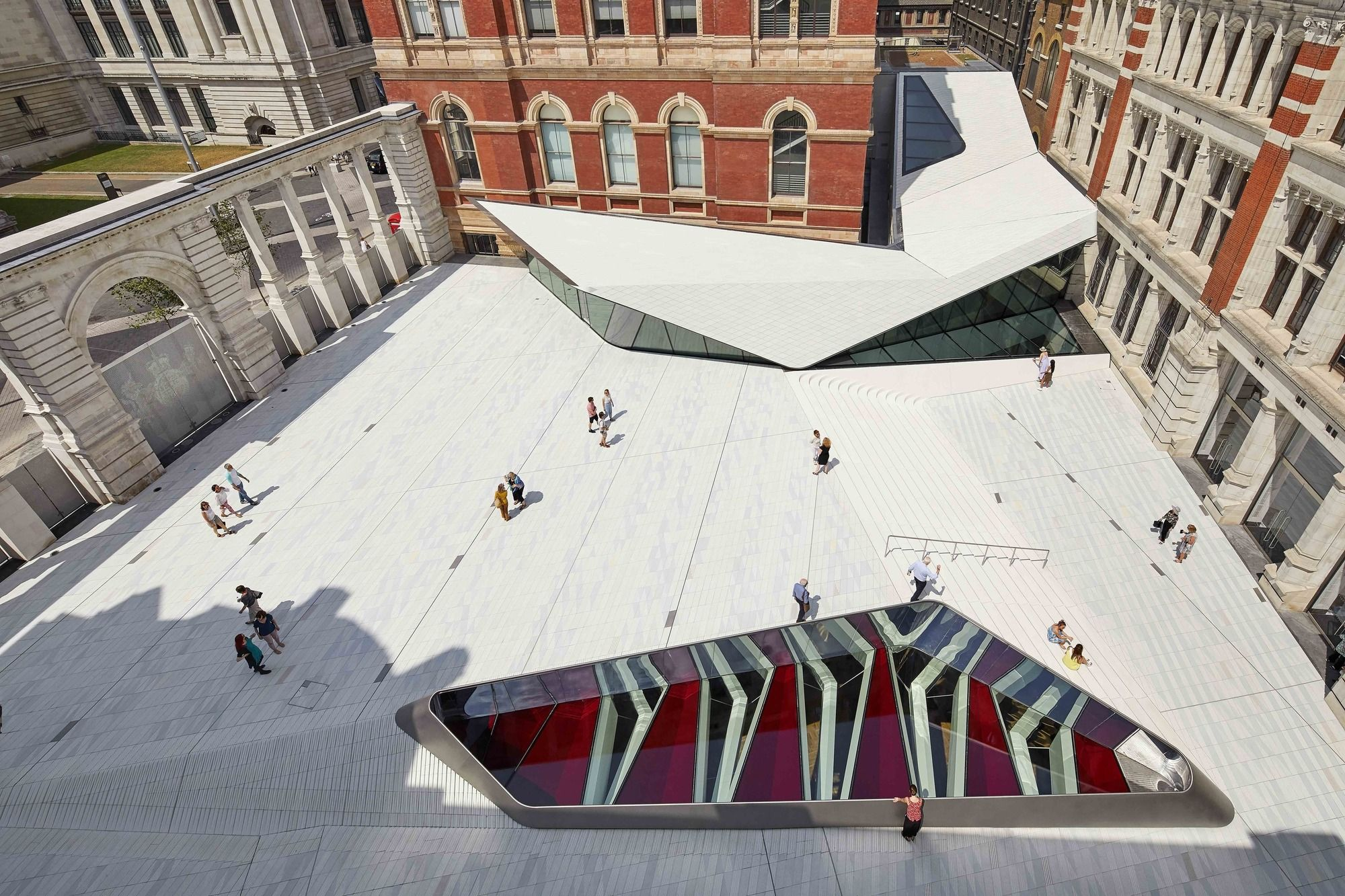 Completed In 2017 In London United Kingdom Images By Hufton Crow The V A Exhibition Road Quarter Took Six Y V A Museum Art And Architecture Architecture
