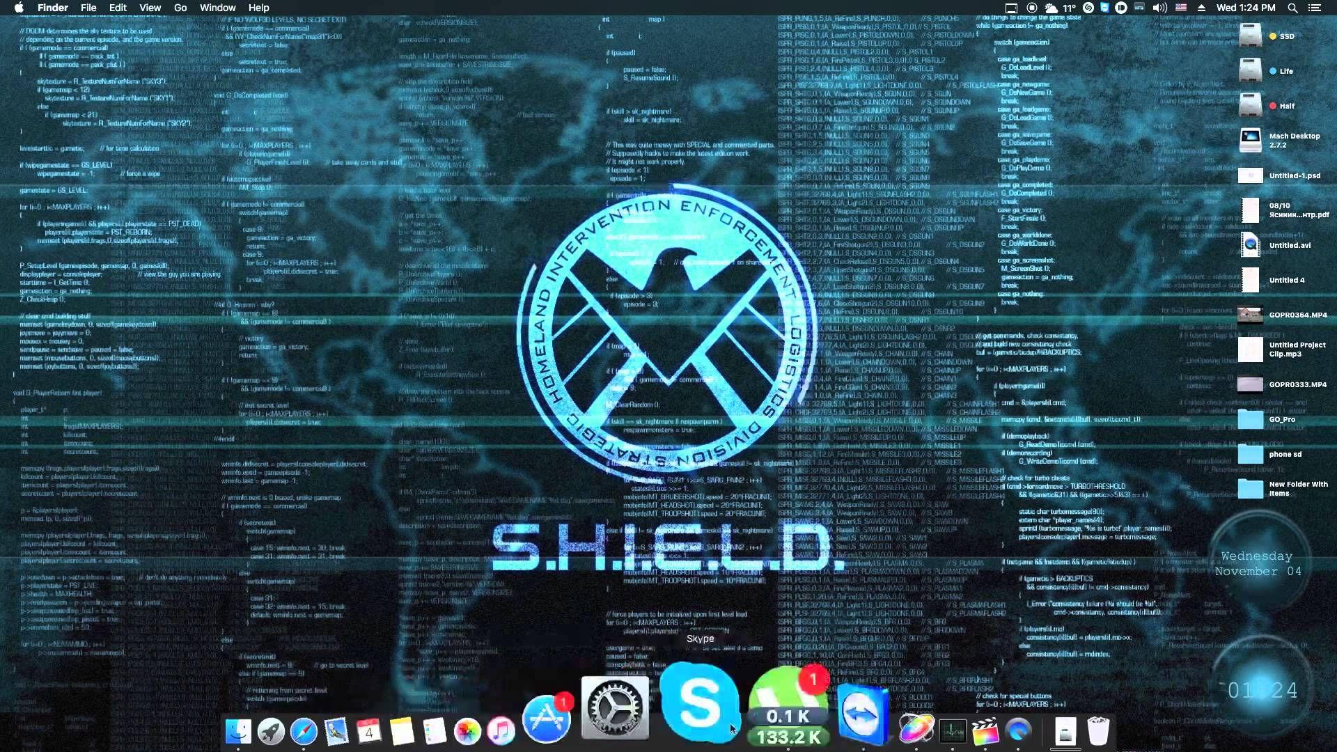 Shield Living Wallpaper Mac