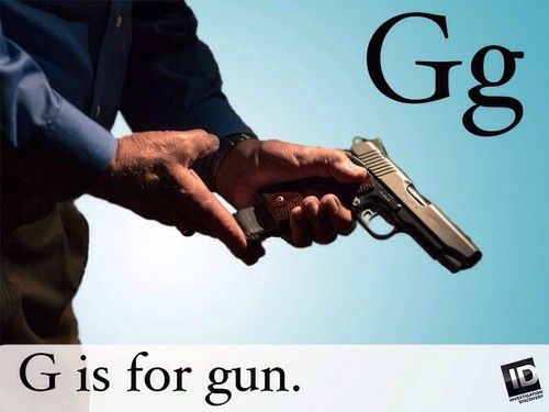 G is for Gun - investigation-discovery Photo