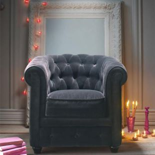 fauteuil velours gris chesterfield planche s marocain pinterest fauteuil velours. Black Bedroom Furniture Sets. Home Design Ideas