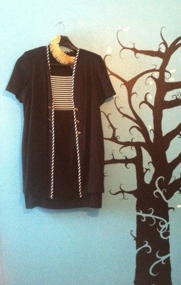 Women's Vintage Sailor Inspired Dress by thericochetproject, $30.00