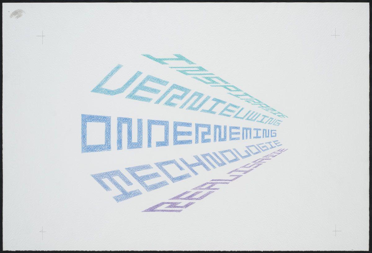 Jurriaan Schrofer, 1988