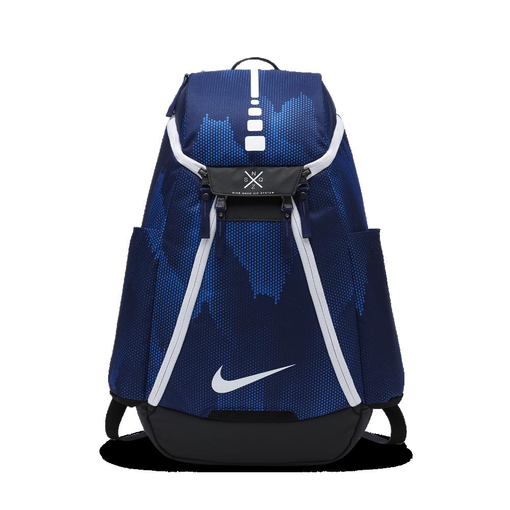 03b9561fa7 Nike Hoops Elite Max Air Team 2.0 Graphic Basketball Backpack (Blue ...