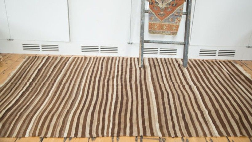 Add Texture To Your Space While Keeping The Tones Of The Room Neutral With A Vintage Moroccan Kilim Rug Vintage Moroccan Moroccan Kilim Rugs