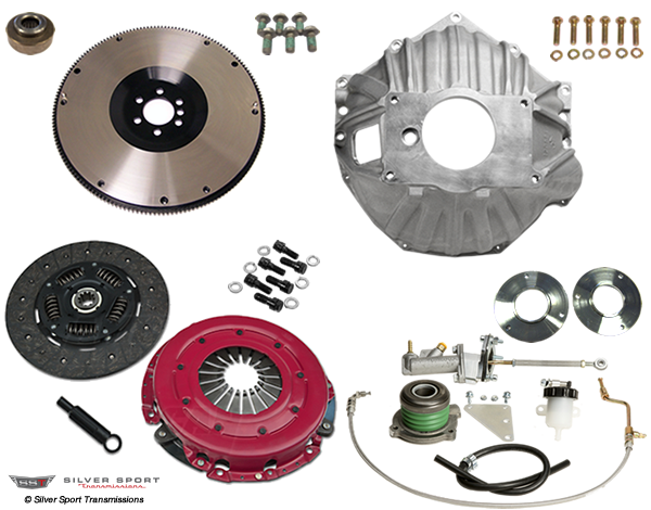 Convert to an LS engine with our new LS EZ kit  This allows