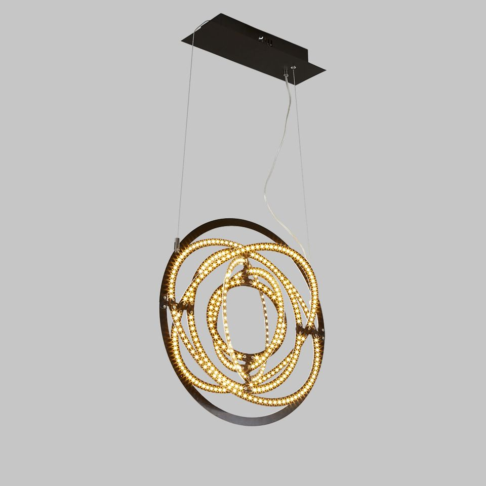 Home Decorative Modern Metal Creative energy saving led Chandeliers ...