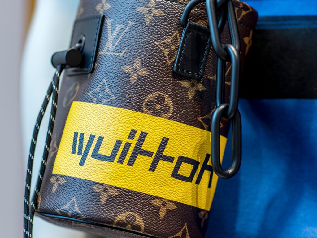 828536e7b Louis Vuitton Monogram Brown Logos Chalk Nano Bag | Louis Vuitton ...