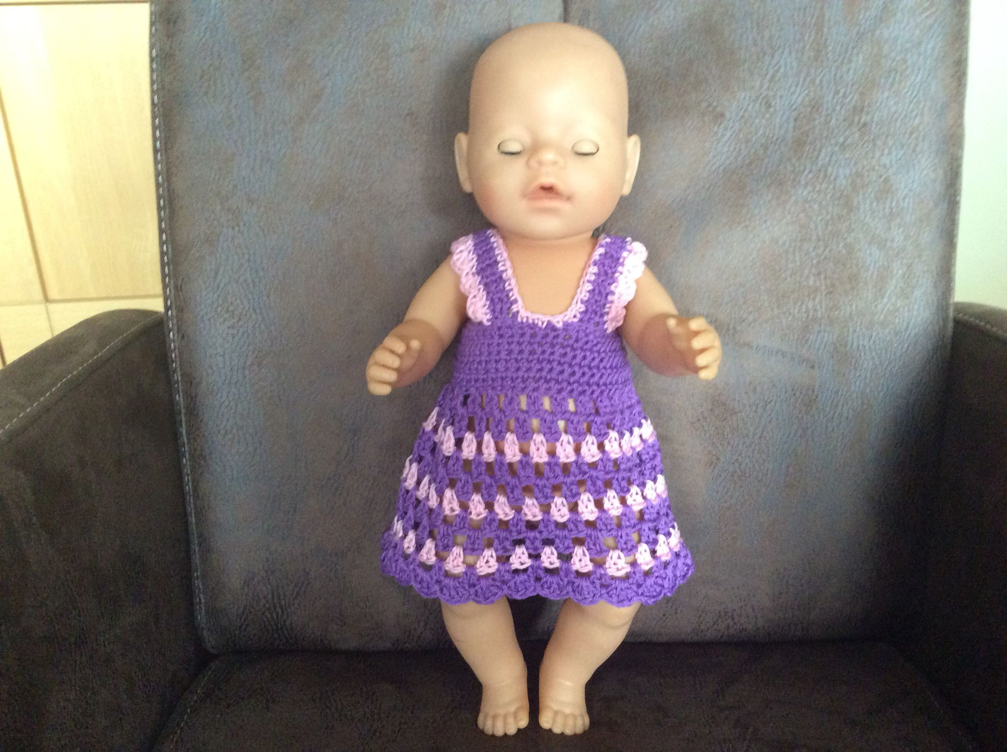Haakpatroon Baby Born 43 Cm 50 Losse Opzetten 7 Toeren Vaste