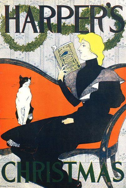 Harpers Cat -Henri de Toulouse-Lautrec