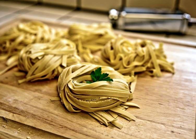 Fresh pasta dough using stand mixer recipe by silvia