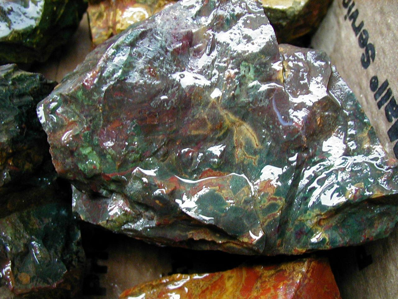 Kaleidoscope Jasper Agate From Oregon High Desert With