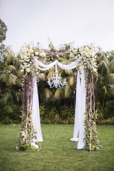 10 shabby chic garden wedding decoration ideas