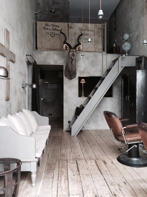 betons desgin stadthaus einrichtung friseur grazia. Black Bedroom Furniture Sets. Home Design Ideas