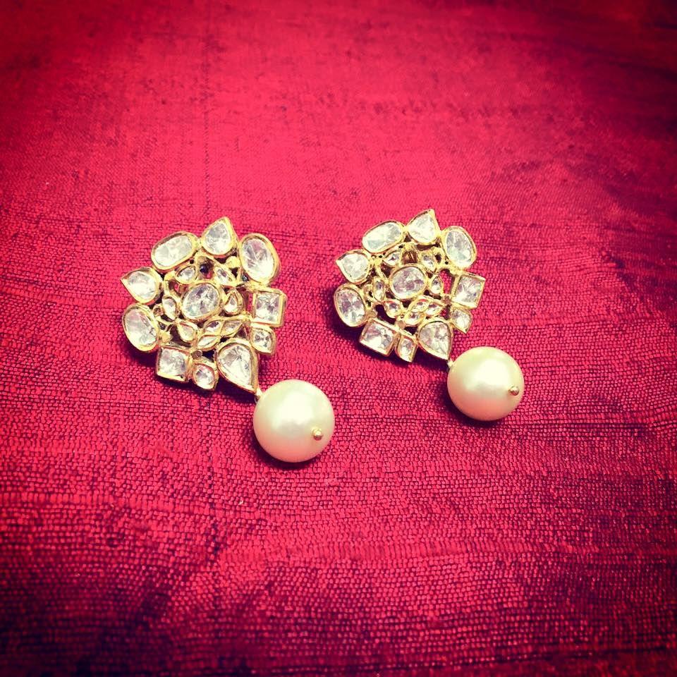 dd1a875ec 23 Latest Diamond Earrings Designs That Will Stun You! | Earring ...