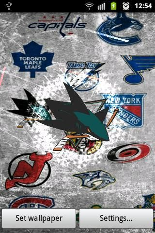 Download NHL Teams Live Wallpaper For Android
