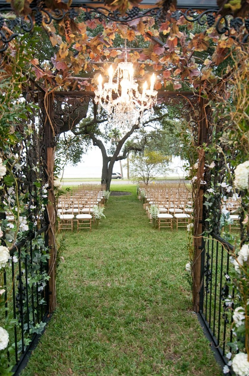 "Secret Garden: Champagne, Ivory And Gold ""Secret Garden"" Inspired Wedding"