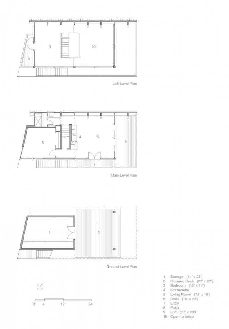 Casey Key Guest House - Architecture Linked - Architect & Architectural Social Network