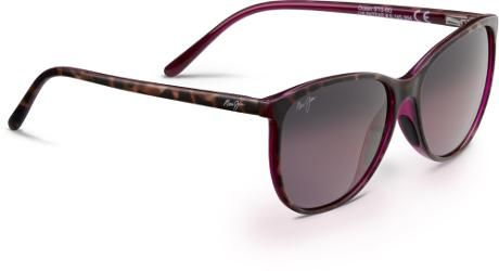 6297c529fc Maui Jim Women's Ocean Polarized Sunglasses Tortoise/Raspberry Hcl Bronze