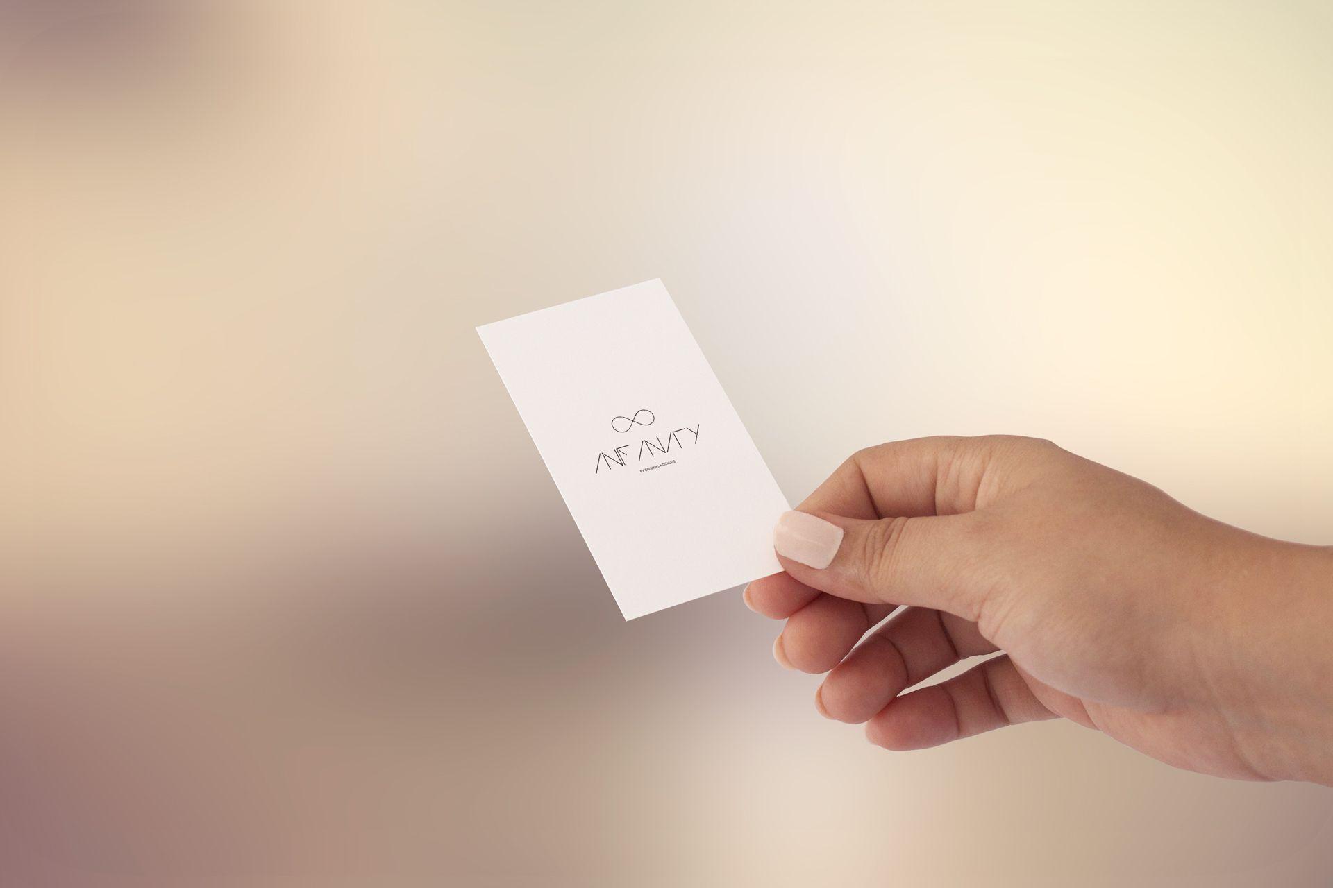 Hand Business Card Mockup - Infinity Bundle by Original Mockups http ...