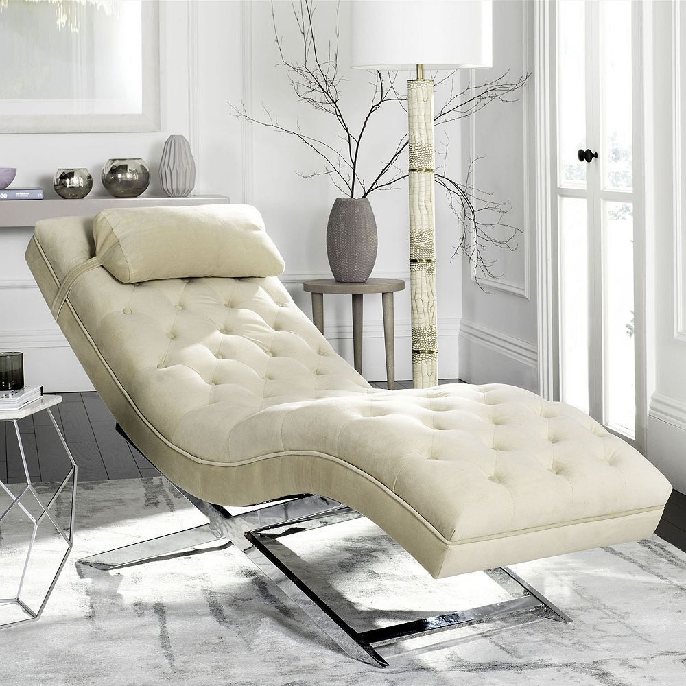 safavieh monroe chaise lounge chair headrest pillow 2 piece set rh pinterest com au