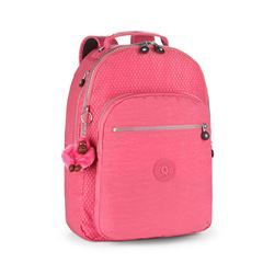 729379baf Mochila Kipling CLAS SEOUL Carmine Pink Bl   Bolsos en 2019   Diseño ...
