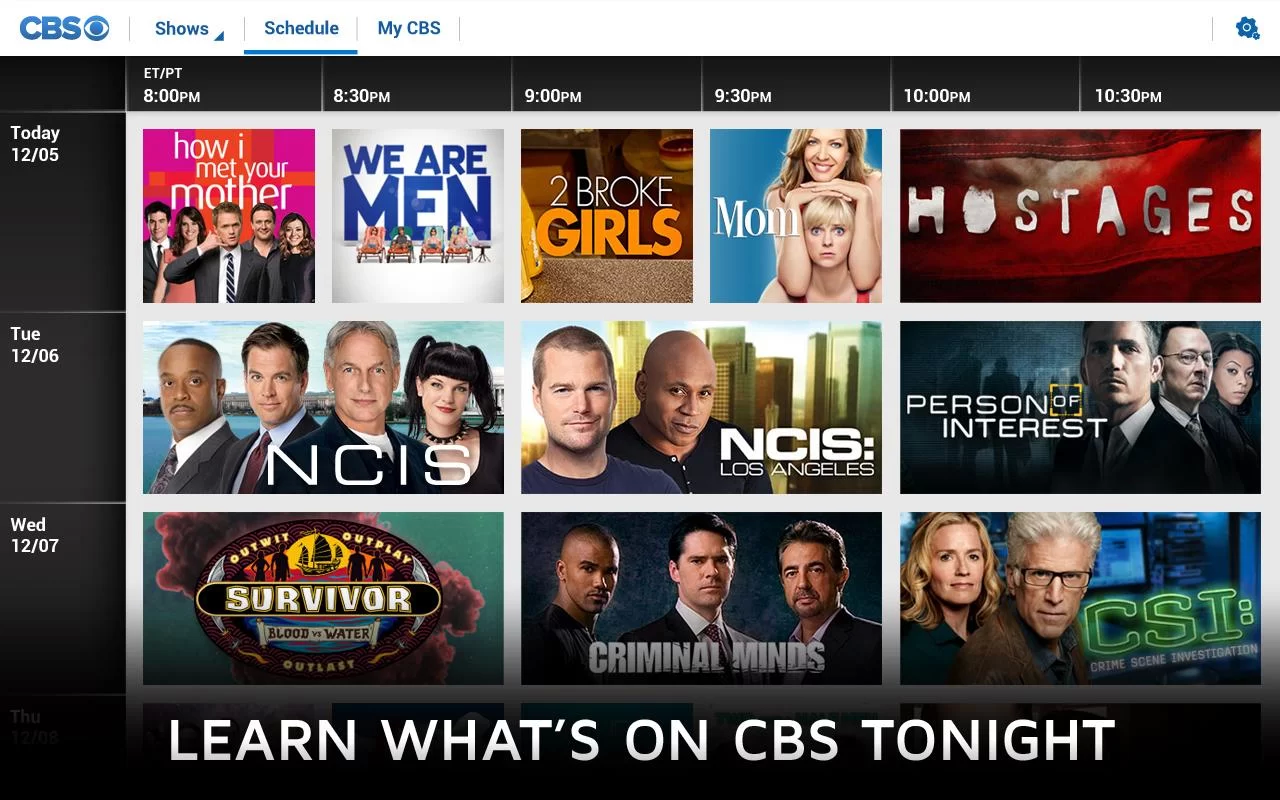 CBS is expanding its reach. The company is releasing its