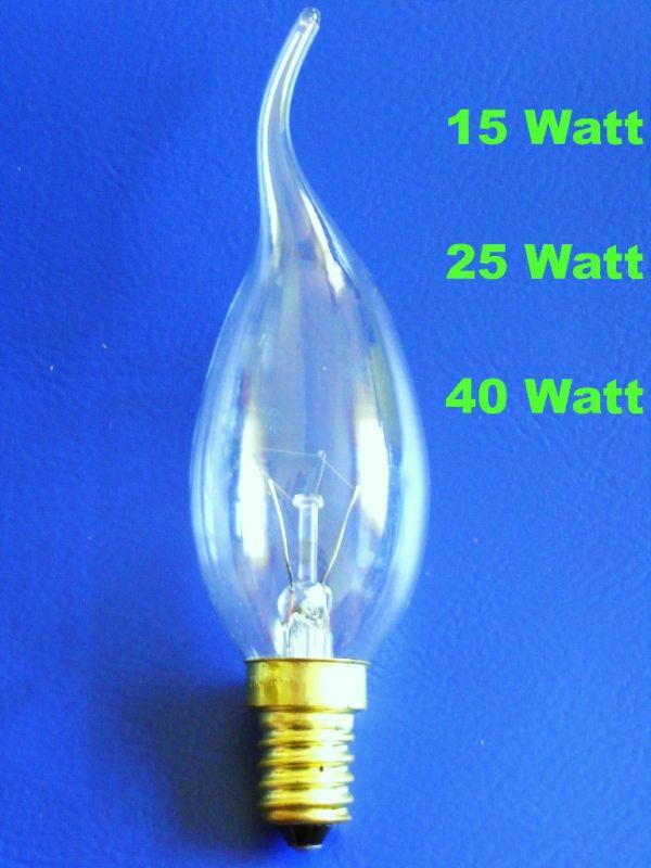 Details Zu 5 100 X Windstoss Kerze Gluhlampen 15w 25w 40w Klar