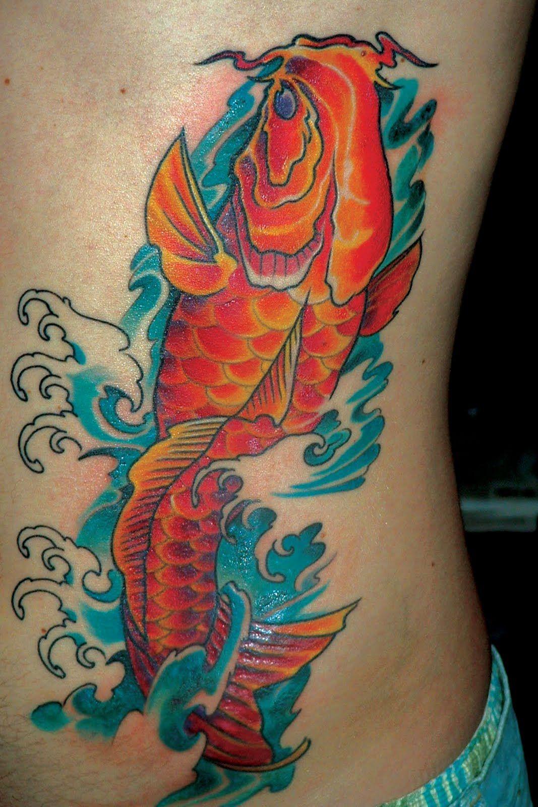 koi fish tattoo forearm - Google Search | For my next tattoo ...
