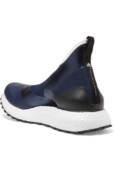 2dcc93d29fd67 + Parley for the Oceans UltraBOOST X All Terrain metallic Primeknit sneakers   NetAPorter  Adidas  StellaMcCartney  sneaker  affiliate
