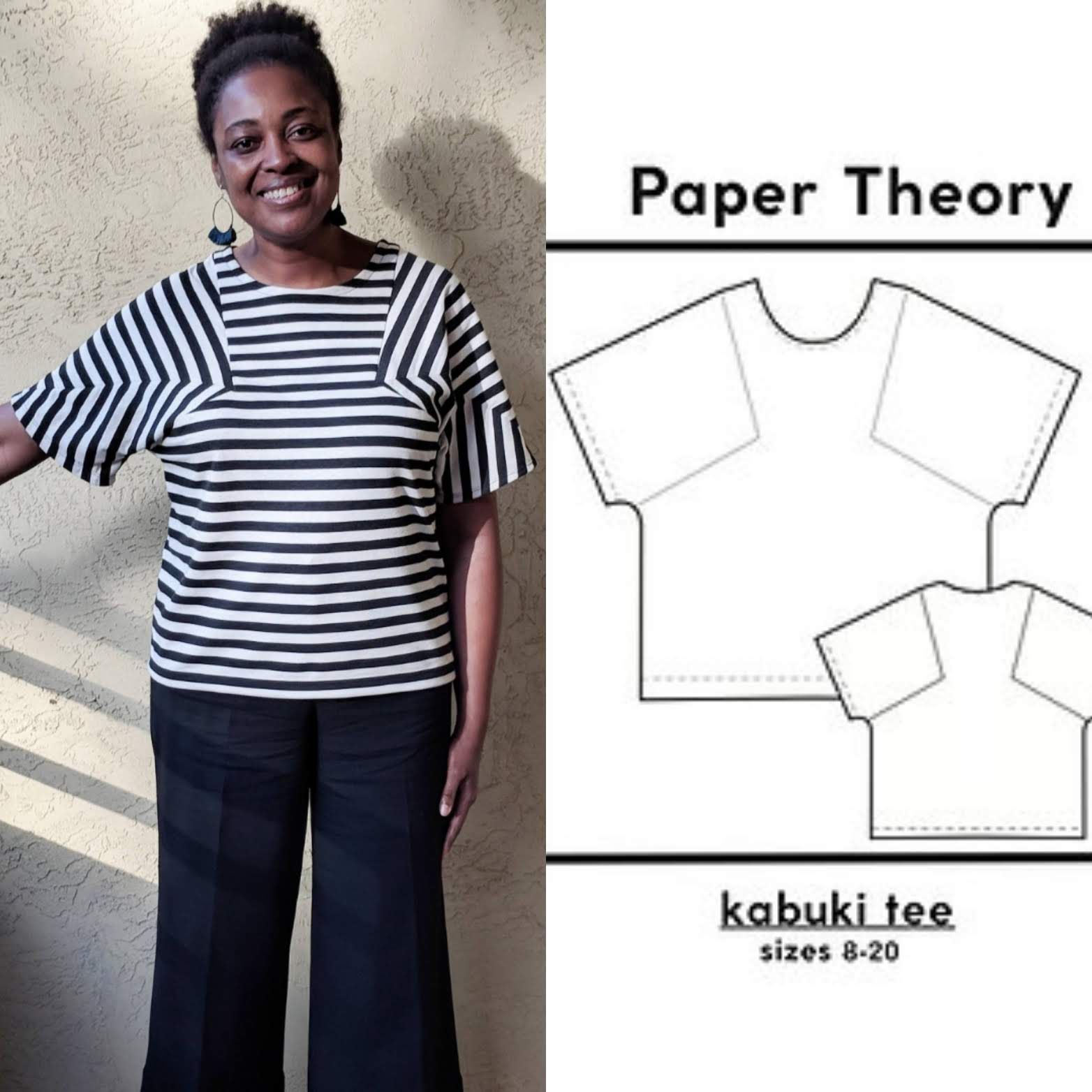 Kabuki Tee Pdf Sew Your Own Clothes Clothing Patterns Sewing