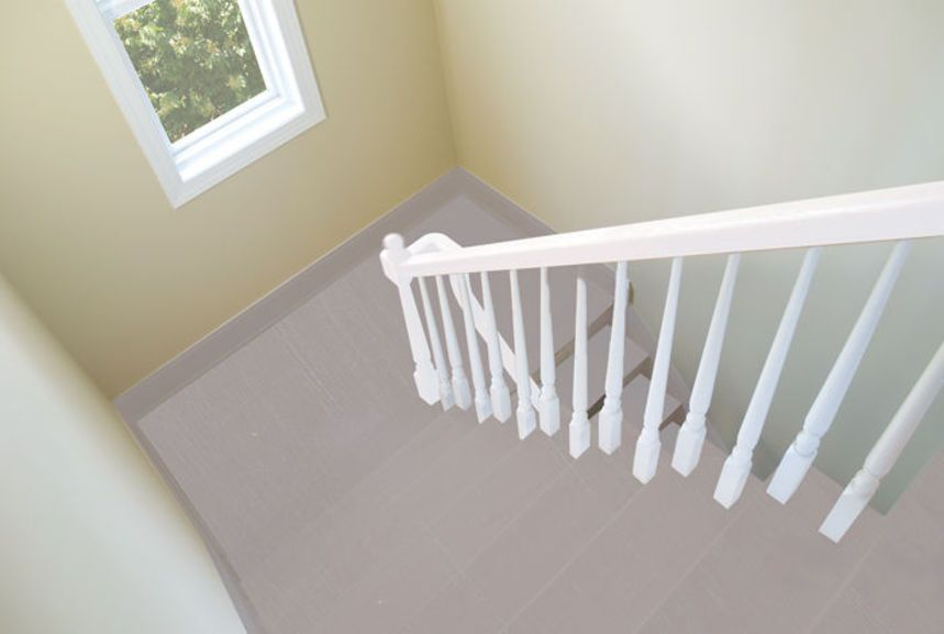 Relook Bois Sols   Taupe + Patine Blanche