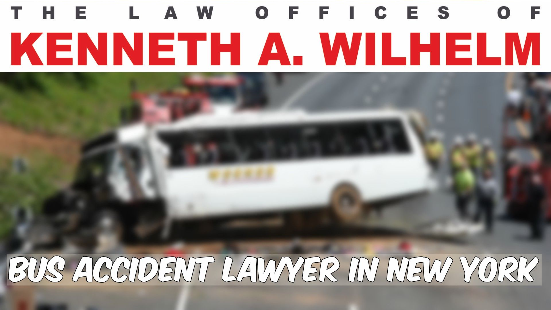 Are You Involved In A Bus Accident York New York Lawyer
