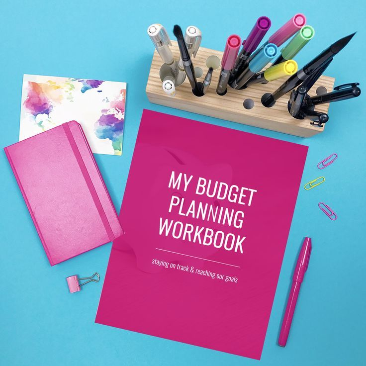 Budget Planning Workbook Dave ramsey, Snowball and Monthly budget