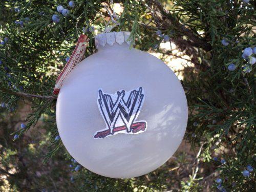 WWE World Wrestling Entertainment HANDMADE Christmas Ornaments ...