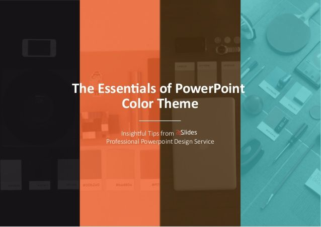 The essentials of powerpoint color theme slides pinterest if youre trying to build a specific look or theme for your presentation you should keep in mind that colors do matter and have a major powerful impact toneelgroepblik Choice Image