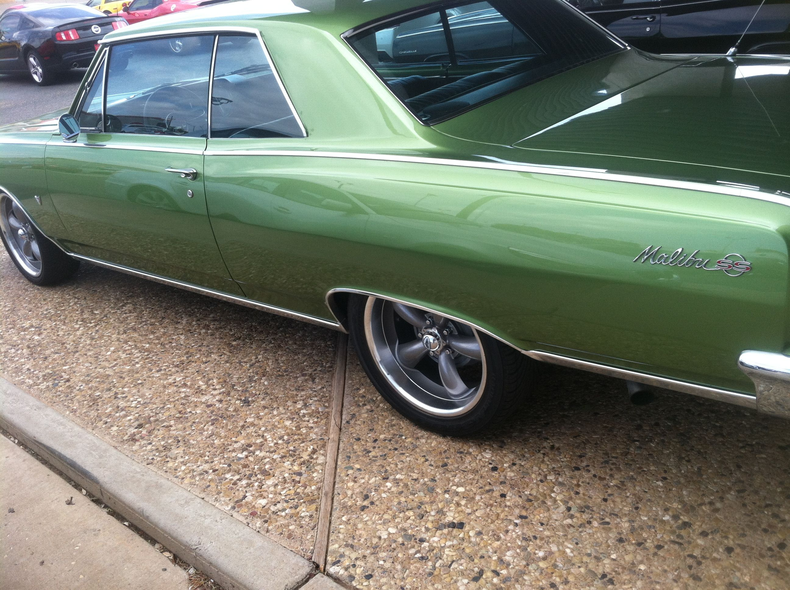 64 Chevelle SS, Close to my color after I had it painted from