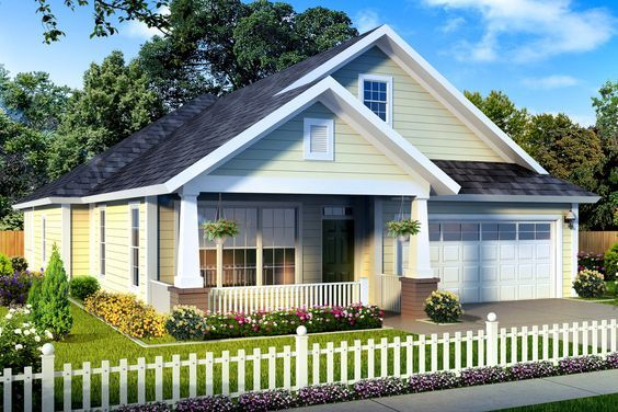 This bungalow design floor plan is 1581 sq ft and has 3 bedrooms and