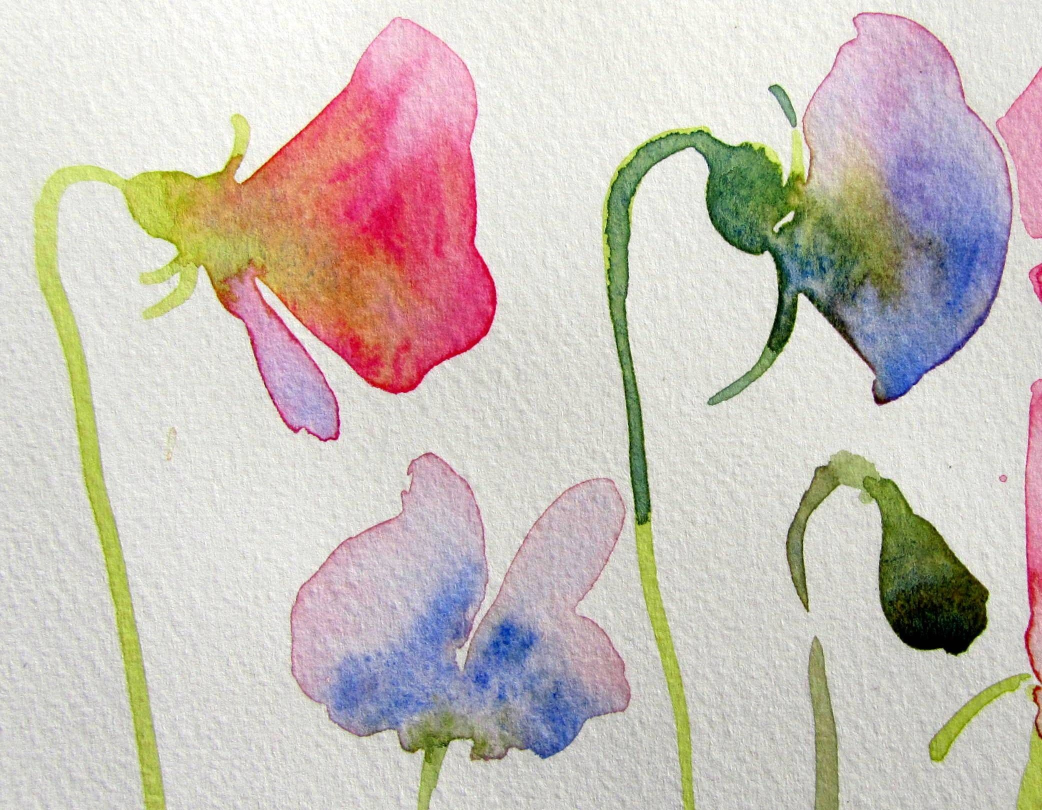Image Result For Watercolor Flowers For Beginners Floral