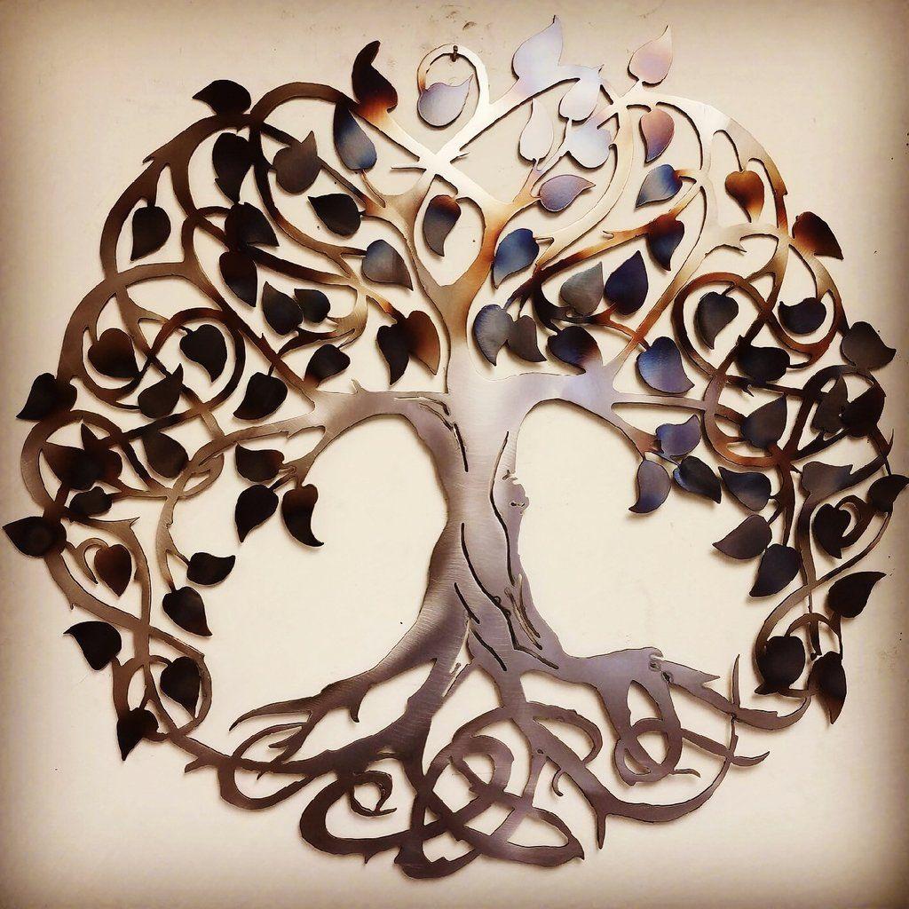 Keltic tree of life metal art celtic pinterest