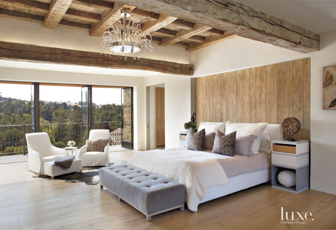 Bedroom interior roof this los altos hills home consisted of  hilltop acres boasting a