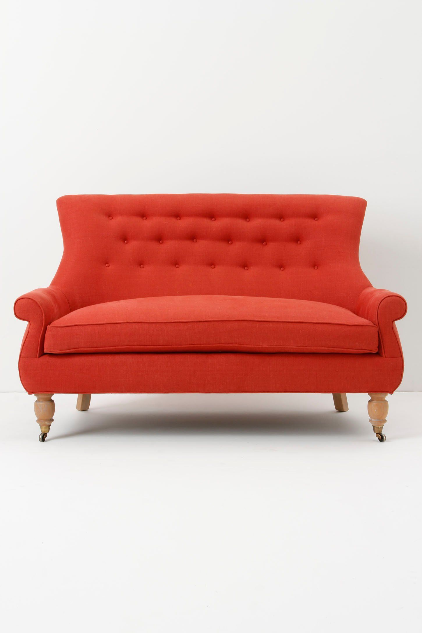 Astrid Settee Anthropologie I Feel So Deeply Attached To This Piece Of Furniture That I Am